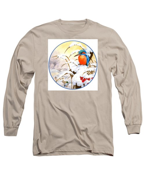 Kingfisher Plate Long Sleeve T-Shirt