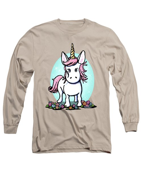 Kiniart Unicorn Sparkle Long Sleeve T-Shirt