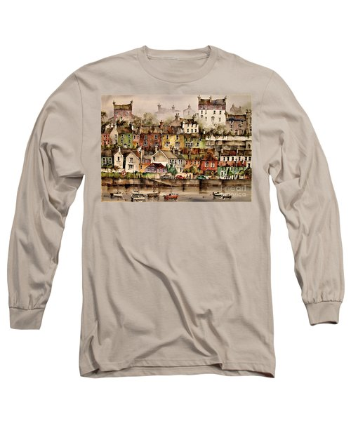F 906  Kinsale Harbour. Cork Long Sleeve T-Shirt