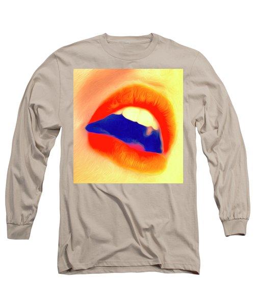 Kiss Me- Long Sleeve T-Shirt
