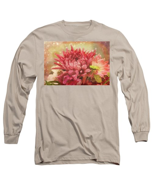 Kissed With Snow Long Sleeve T-Shirt by Joan Bertucci