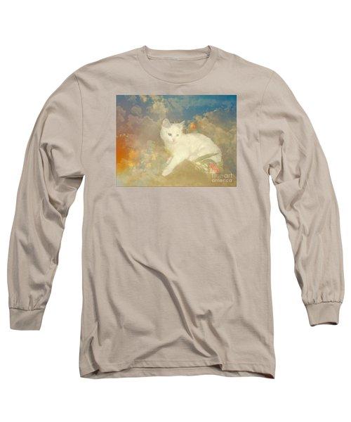 Kitty Art Precious By Sherriofpalmsprings Long Sleeve T-Shirt