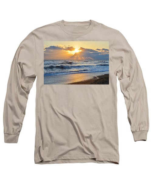 Kitty Hawk Sunrise Long Sleeve T-Shirt