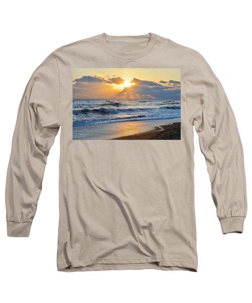 Kitty Hawk Sunrise Long Sleeve T-Shirt