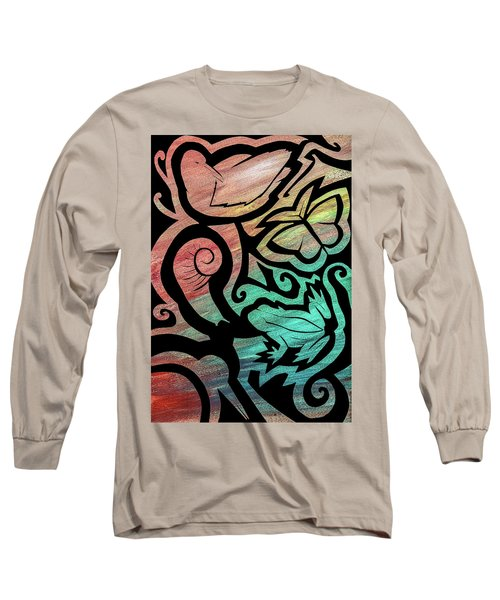 Kiwi Nature Long Sleeve T-Shirt