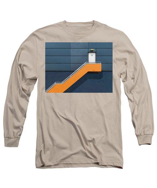 Knock Before Entering Long Sleeve T-Shirt