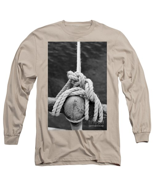 Long Sleeve T-Shirt featuring the photograph Knot On My Warf Iv by Stephen Mitchell