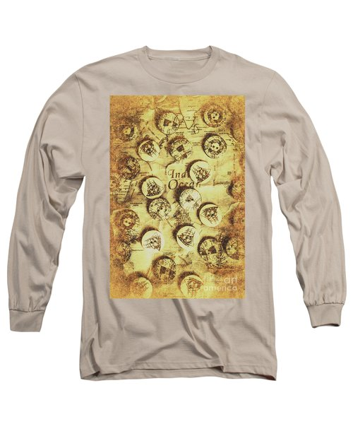 Knots And Buttons Long Sleeve T-Shirt