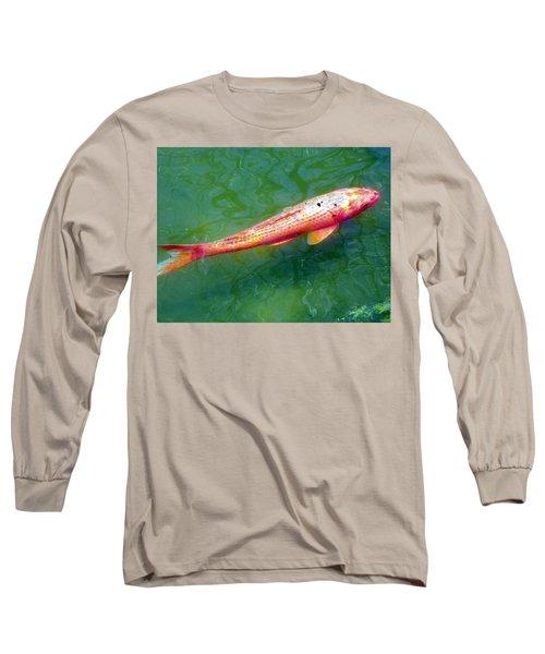 Koi Fish Long Sleeve T-Shirt by Joseph Frank Baraba