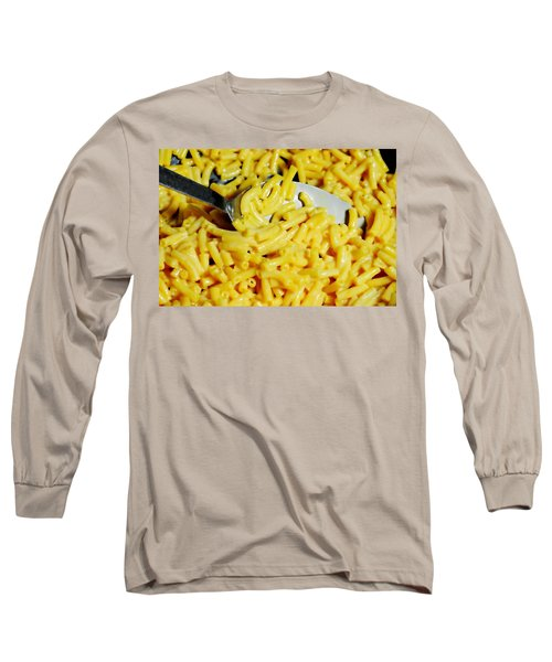 Kraft Mac'n Cheese Long Sleeve T-Shirt by Diana Angstadt