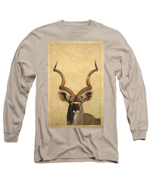 Kudu Long Sleeve T-Shirt by James W Johnson