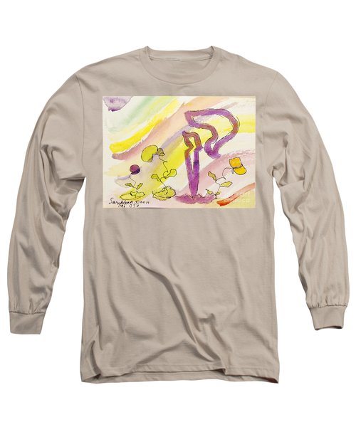 Kuf And Flowers Long Sleeve T-Shirt