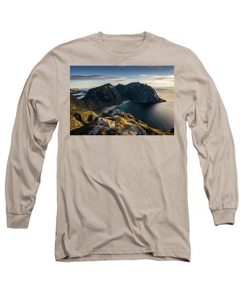 Kvalvika Beach Long Sleeve T-Shirt