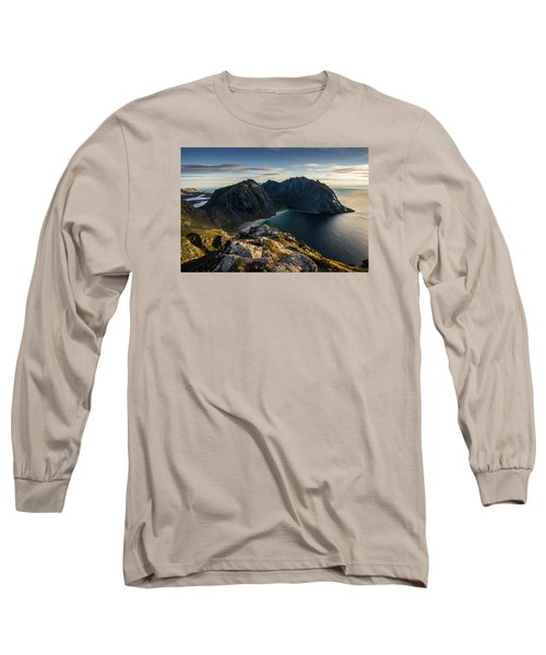 Kvalvika Beach Long Sleeve T-Shirt