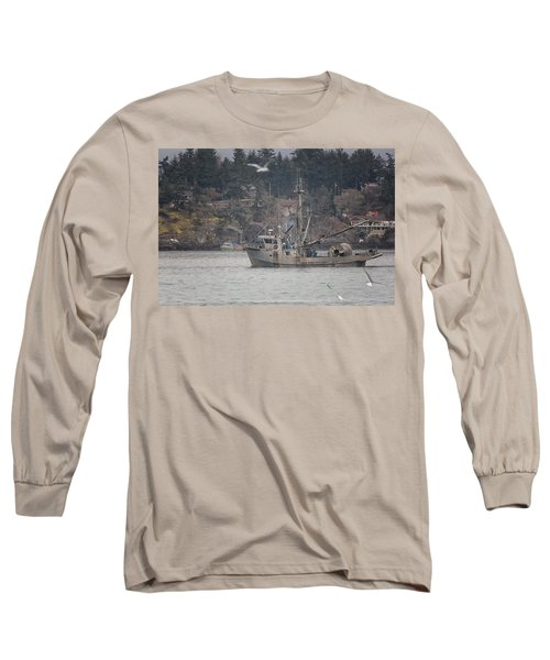 Long Sleeve T-Shirt featuring the photograph Kwiaahwah by Randy Hall