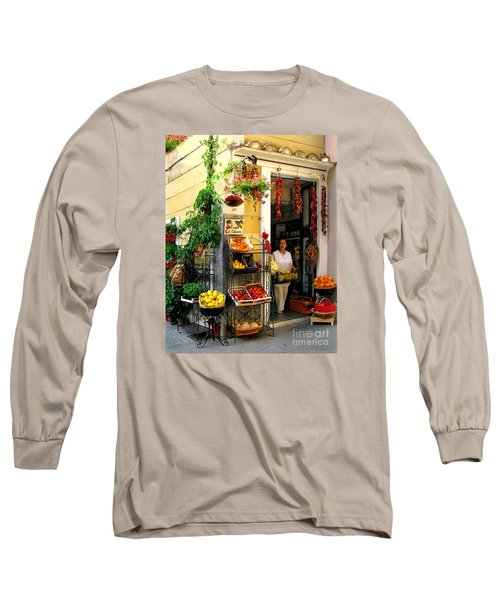 L Argogo Di Adriana  Minori Long Sleeve T-Shirt by Jennie Breeze