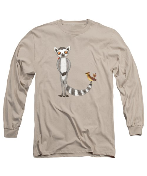 L Is For Lemur And Lark Long Sleeve T-Shirt