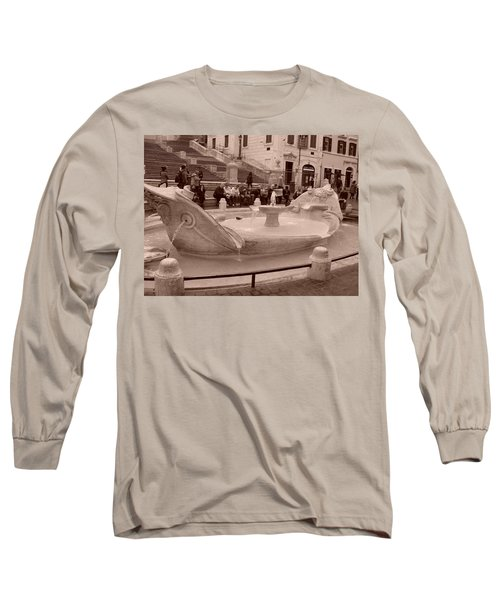 La Barcaccia Long Sleeve T-Shirt