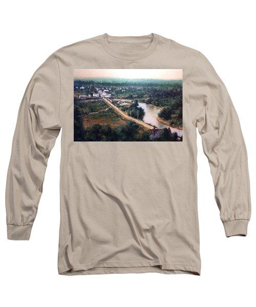 La Center Wa Circa 1915 Long Sleeve T-Shirt