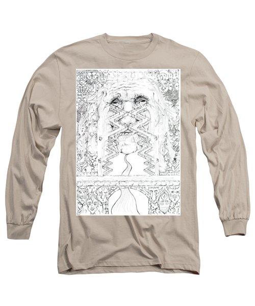 La Llorona Sombra De Arreguin Long Sleeve T-Shirt