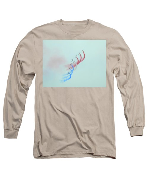La Patrouille De France Long Sleeve T-Shirt by Betty-Anne McDonald
