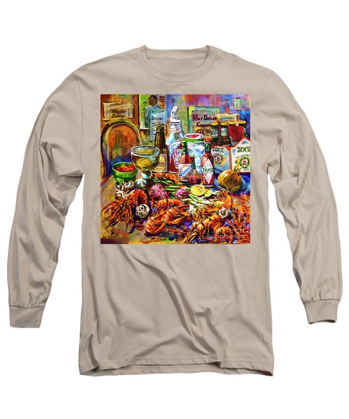 La Table De Fruits De Mer Long Sleeve T-Shirt