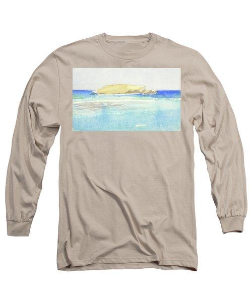 La Tortue, St Barthelemy, 1996 100x60 Cm Long Sleeve T-Shirt