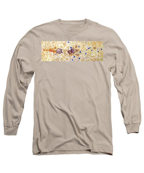 La Vie En Rose Long Sleeve T-Shirt by Dina Dargo
