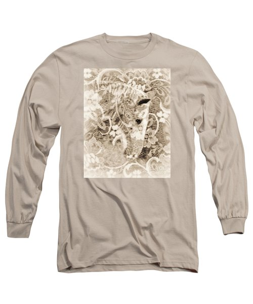 Long Sleeve T-Shirt featuring the photograph Lacey by Lila Fisher-Wenzel