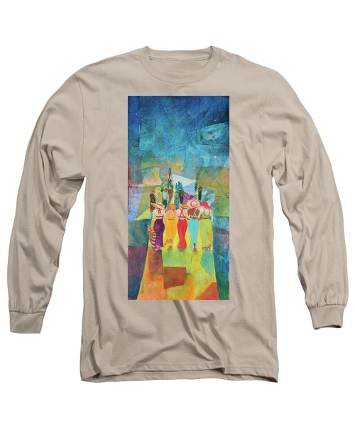 Ladie's Night Out Long Sleeve T-Shirt