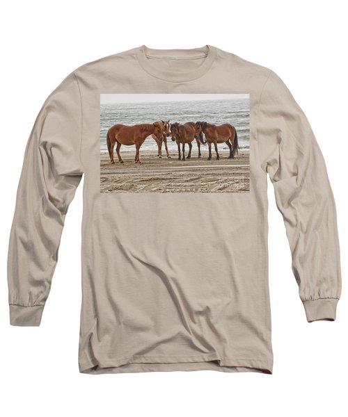 Ladies On The Beach Long Sleeve T-Shirt