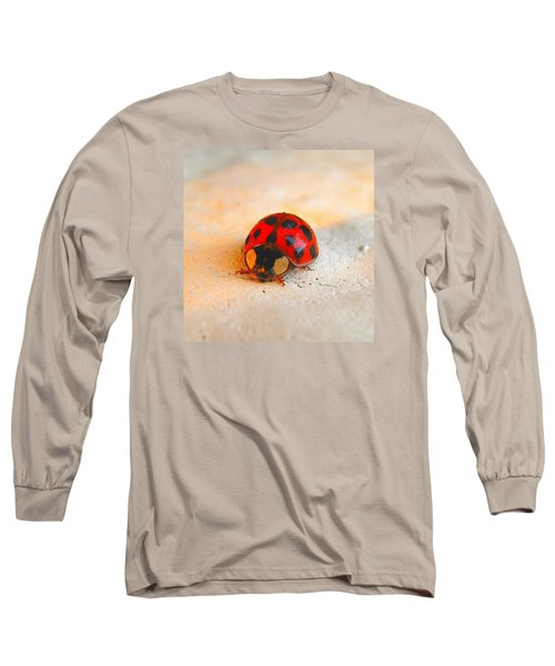 Long Sleeve T-Shirt featuring the photograph Lady Bug 2 by John King