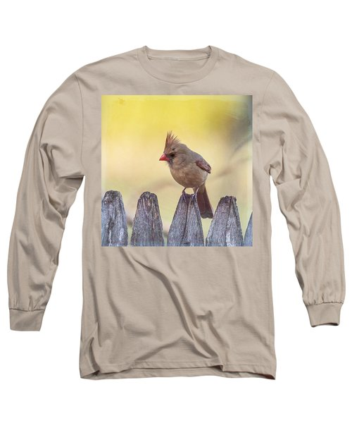 Lady Cardinal Long Sleeve T-Shirt