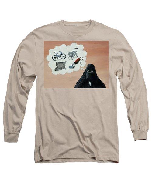 Lady Considers Her Phobias Long Sleeve T-Shirt