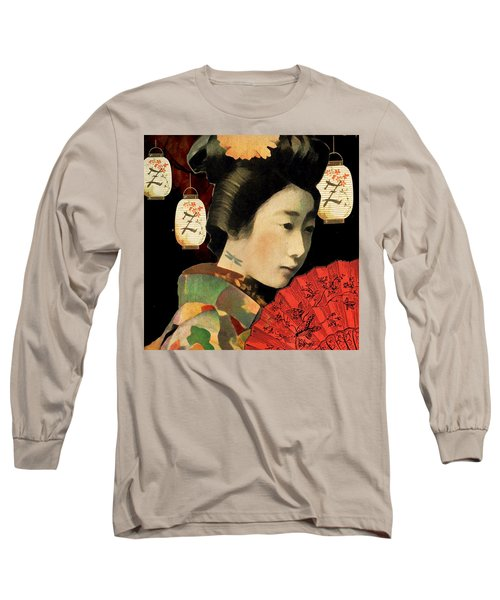 Lady Dragonfly Long Sleeve T-Shirt by Lisa Noneman