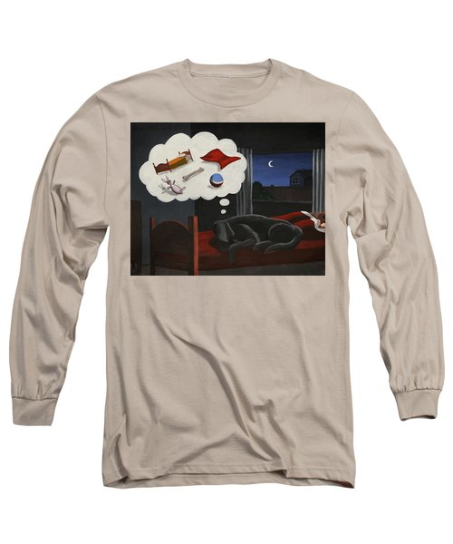 Lady Dreams About Her Favourite Things Long Sleeve T-Shirt