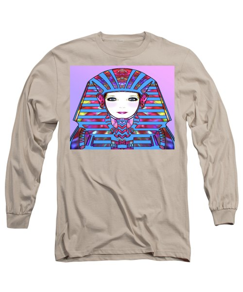 Long Sleeve T-Shirt featuring the photograph Lady Tut #191 by Barbara Tristan