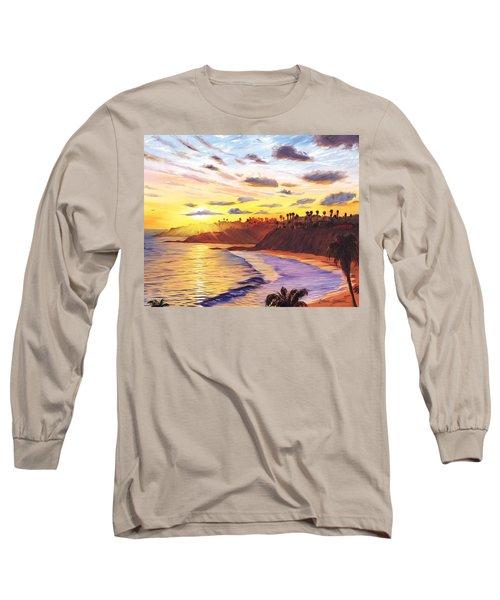 Laguna Village Sunset Long Sleeve T-Shirt