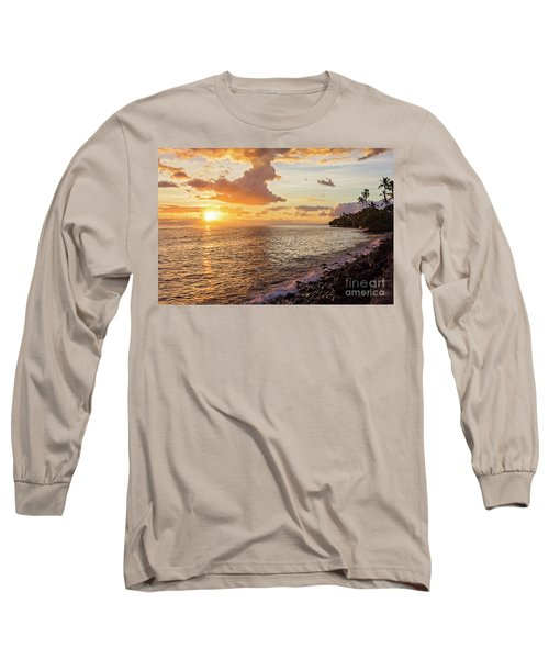 Lahaina Sunset Long Sleeve T-Shirt