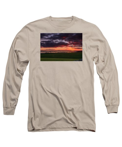 Lake Dumbleyung Sunset Long Sleeve T-Shirt