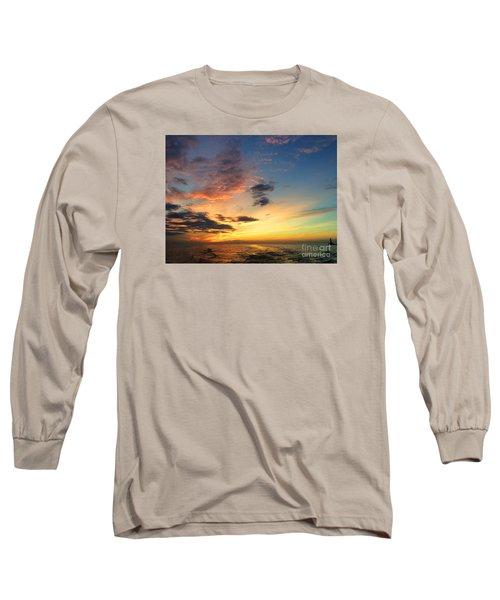 Lake Erie Sunset 2 Long Sleeve T-Shirt