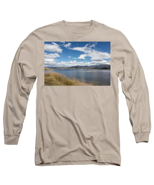 Long Sleeve T-Shirt featuring the photograph Lake Granby -- The Third-largest Body Of Water In Colorado by Carol M Highsmith