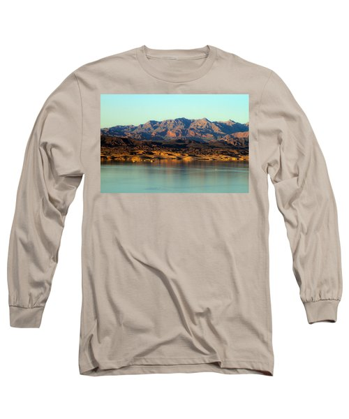 Lake Mead Before Sunset Long Sleeve T-Shirt