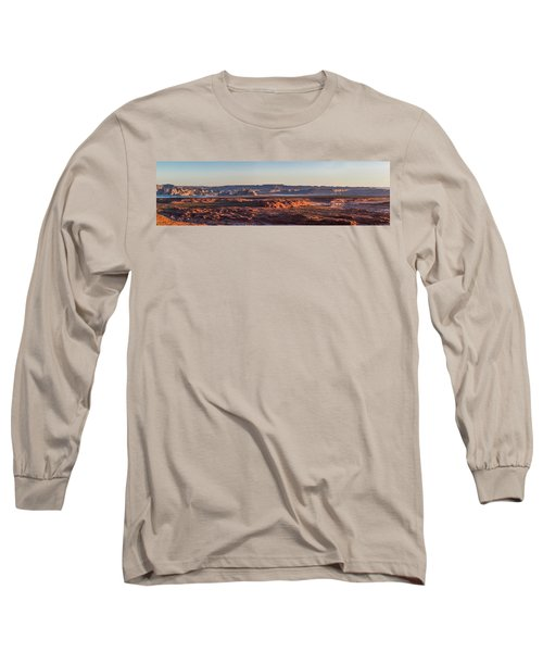 Lake Powell Sunrise Panorma Long Sleeve T-Shirt