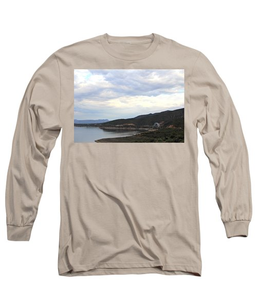 Lake Roosevelt Bridge 1 Long Sleeve T-Shirt