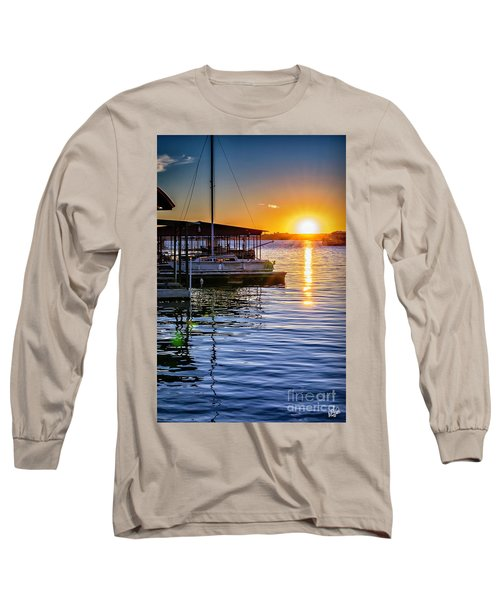 Long Sleeve T-Shirt featuring the photograph Lake Travis by Walt Foegelle