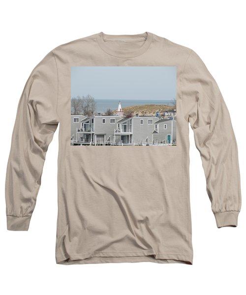 Lakeside Lighthouse  Long Sleeve T-Shirt