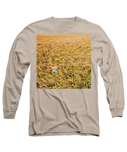 Lamb With Barley Long Sleeve T-Shirt
