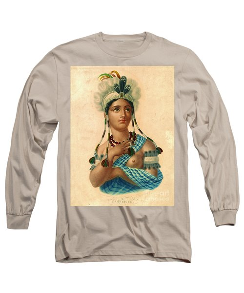 L'amerique 1820 Long Sleeve T-Shirt