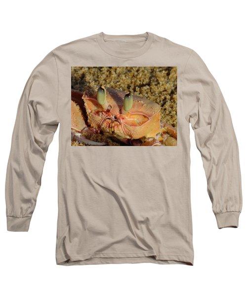Lamu Island - Crab - Close Up 1 Long Sleeve T-Shirt